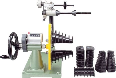 Lucas n lle miniature winding machine with hand crank for Electric motor winding machine